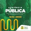 Audiência Pública na Câmara de Mata de São João será realizada na manhã desta quarta (19)